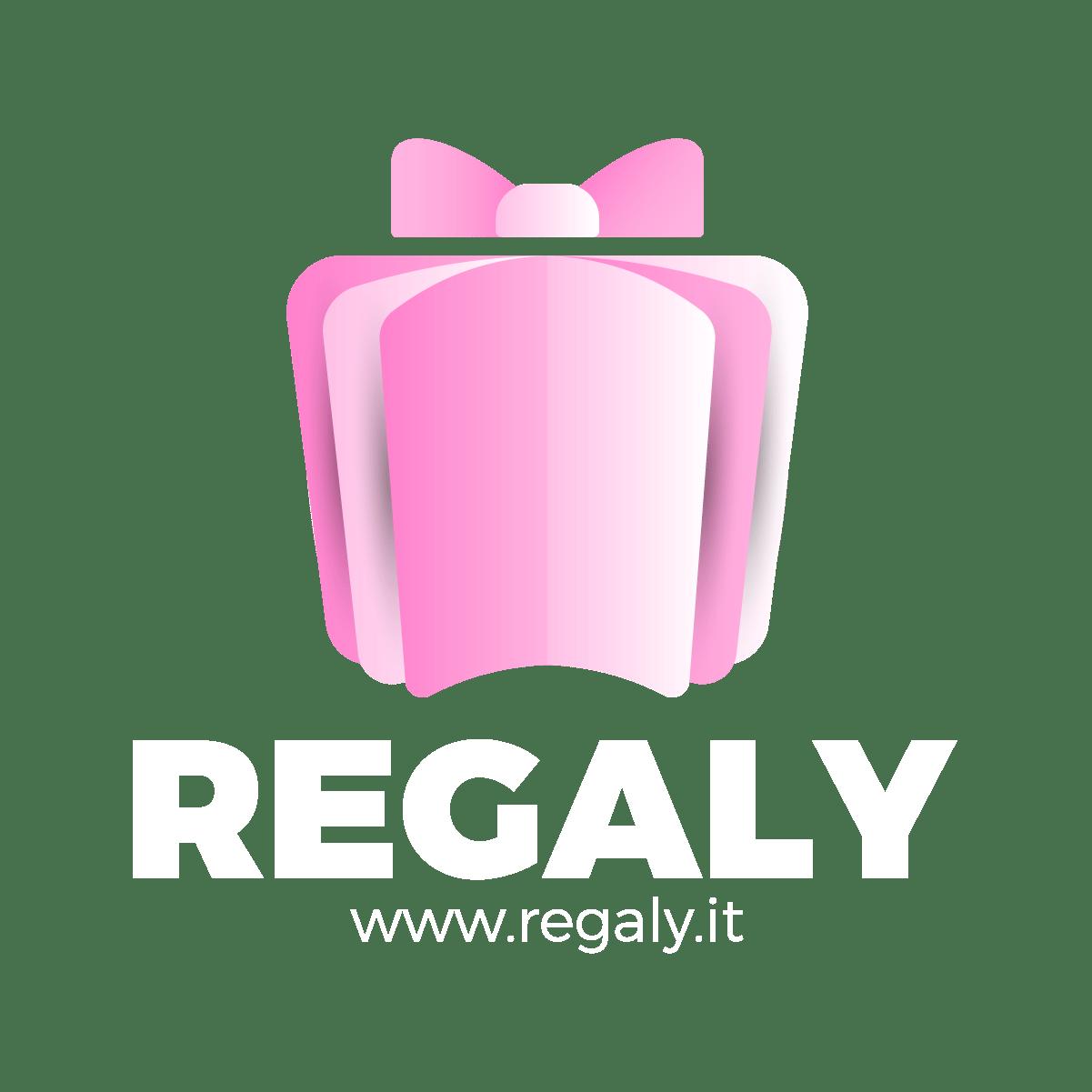 Logo Regaly_5. colore negativo